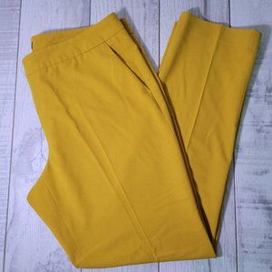 Vince Camuto Mustard Career Pants Size 10